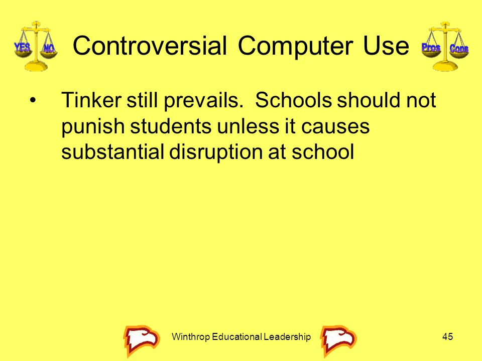 Controversial Computer Use