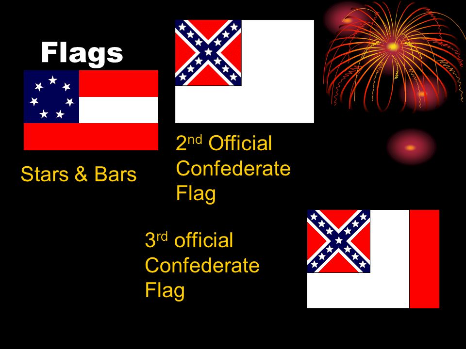 Flags 2nd Official Confederate Flag Stars & Bars