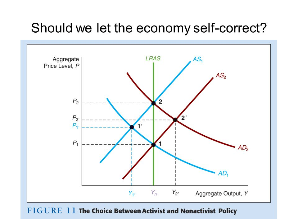 Should we let the economy self-correct