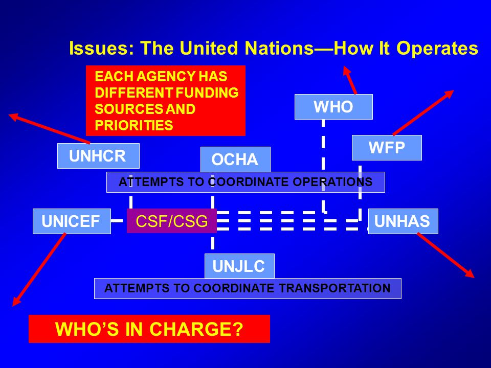 Issues: The United Nations—How It Operates