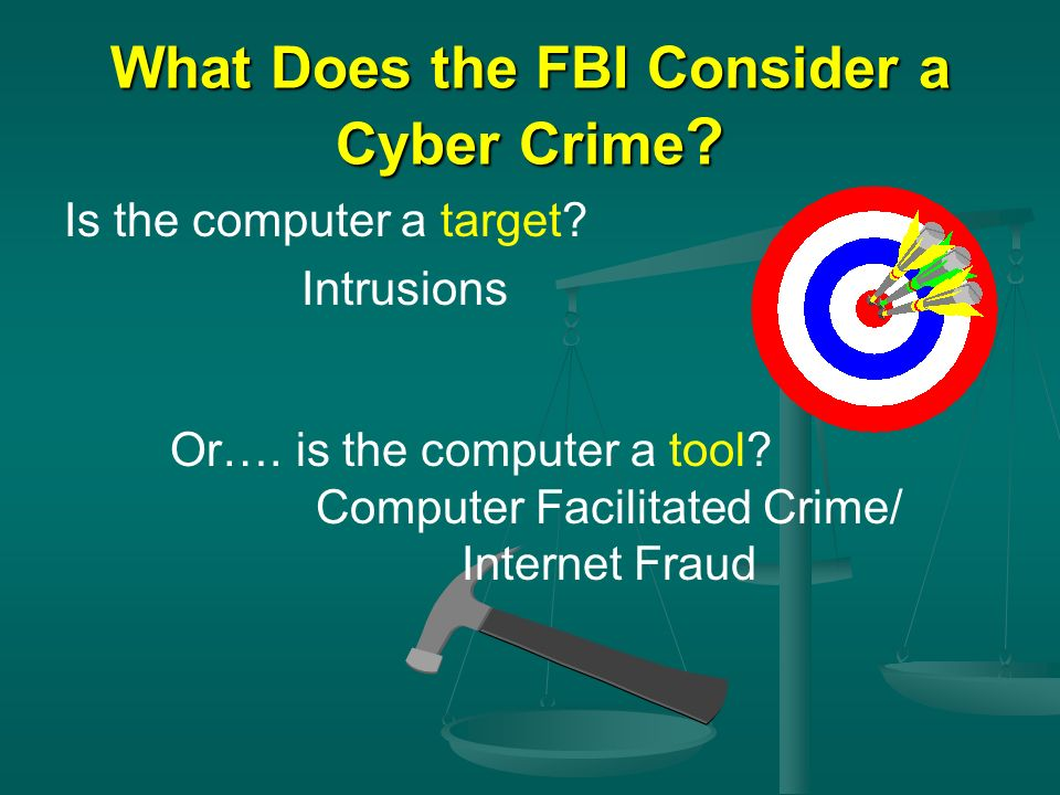 What Does the FBI Consider a Cyber Crime