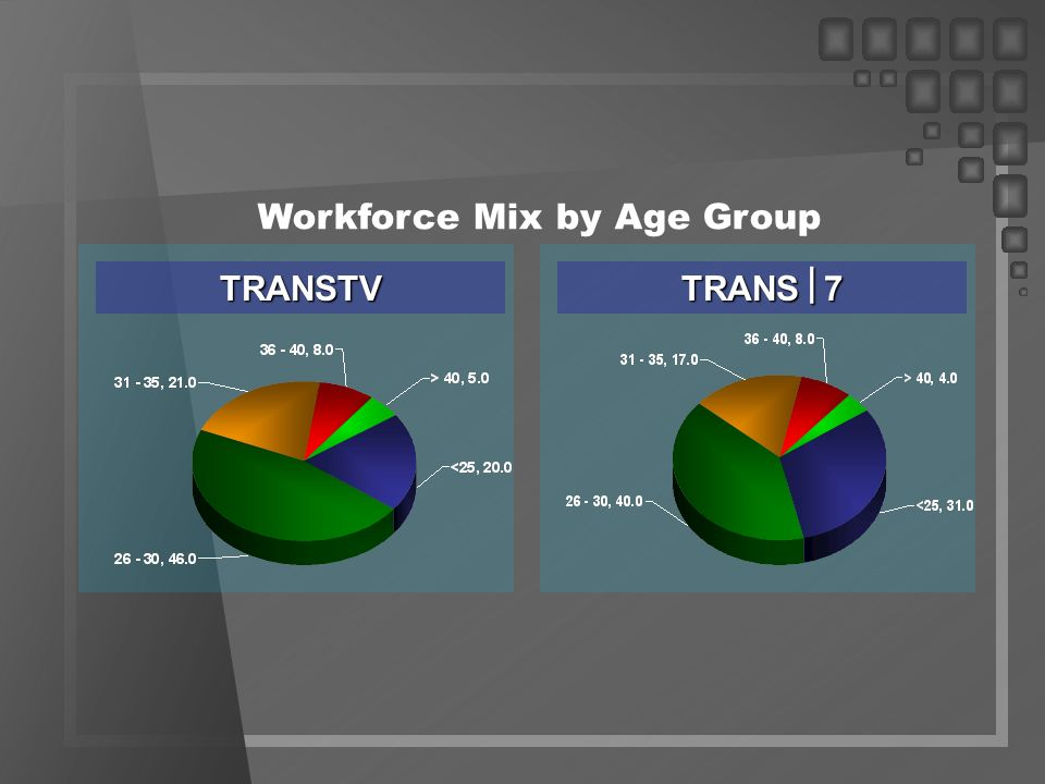Workforce Mix by Age Group