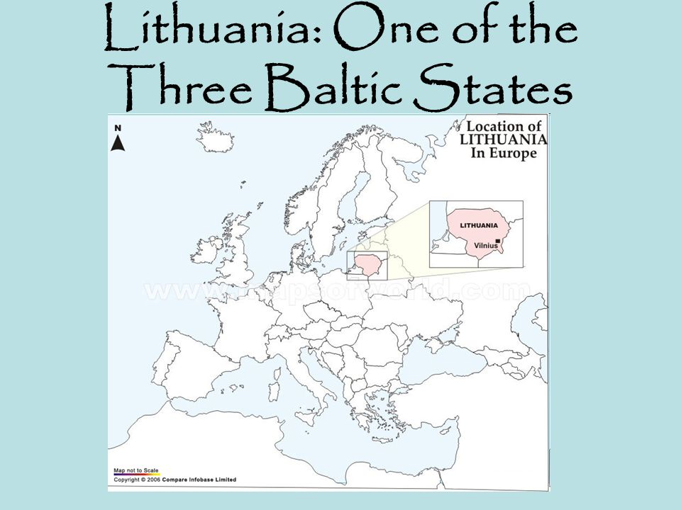 Lithuania: One of the Three Baltic States