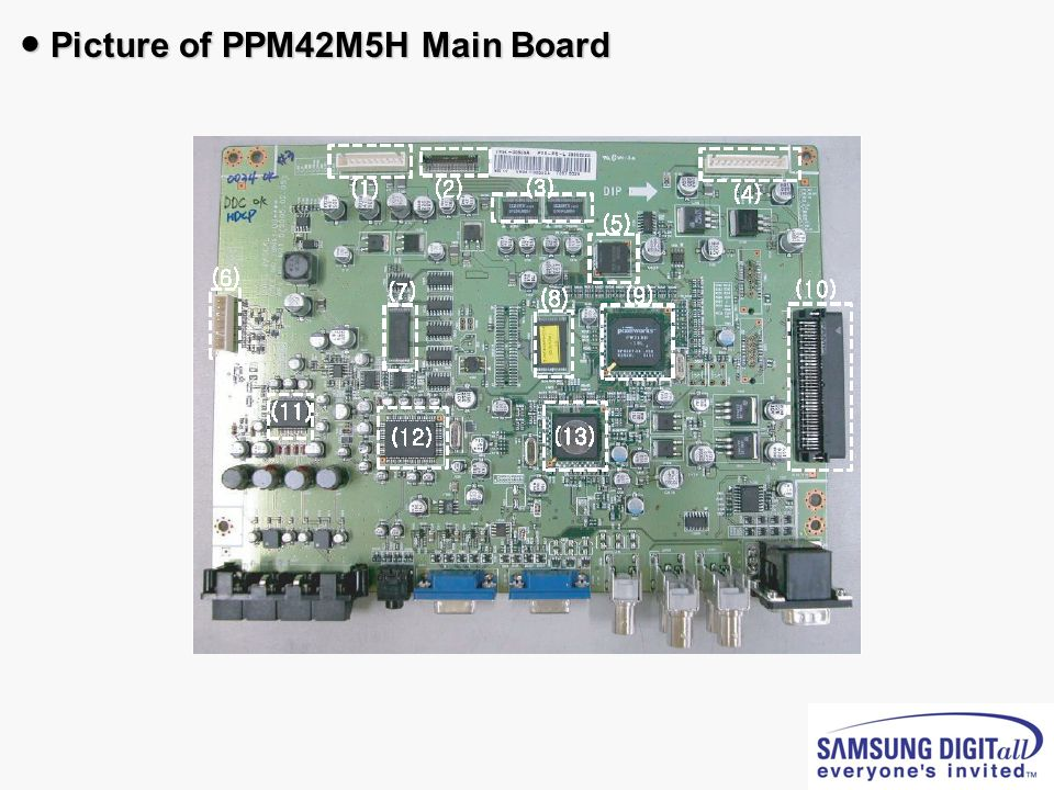 ● Picture of PPM42M5H Main Board