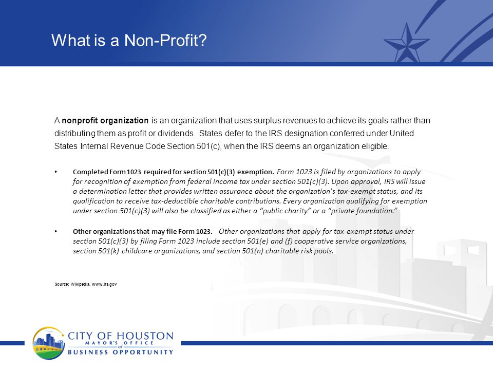 What is a Non-Profit