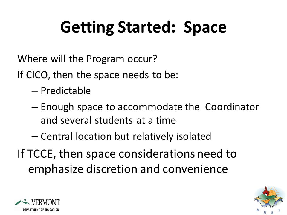 Getting Started: Space