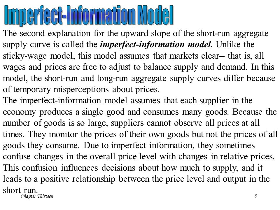 Imperfect-Information Model