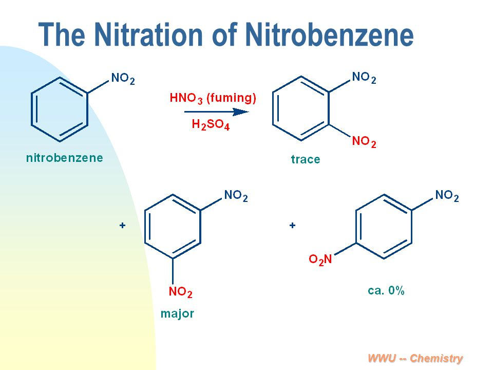 The Nitration of Nitrobenzene