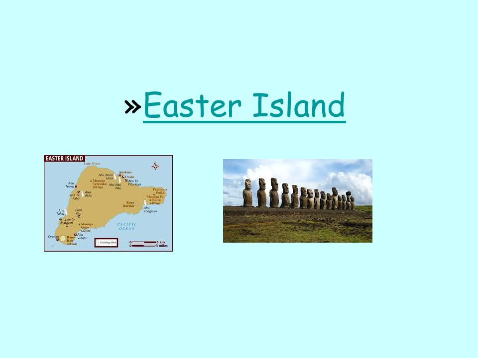 Easter Island Video from: http://www.youtube.com/watch v=XkYJ_KJt_YM
