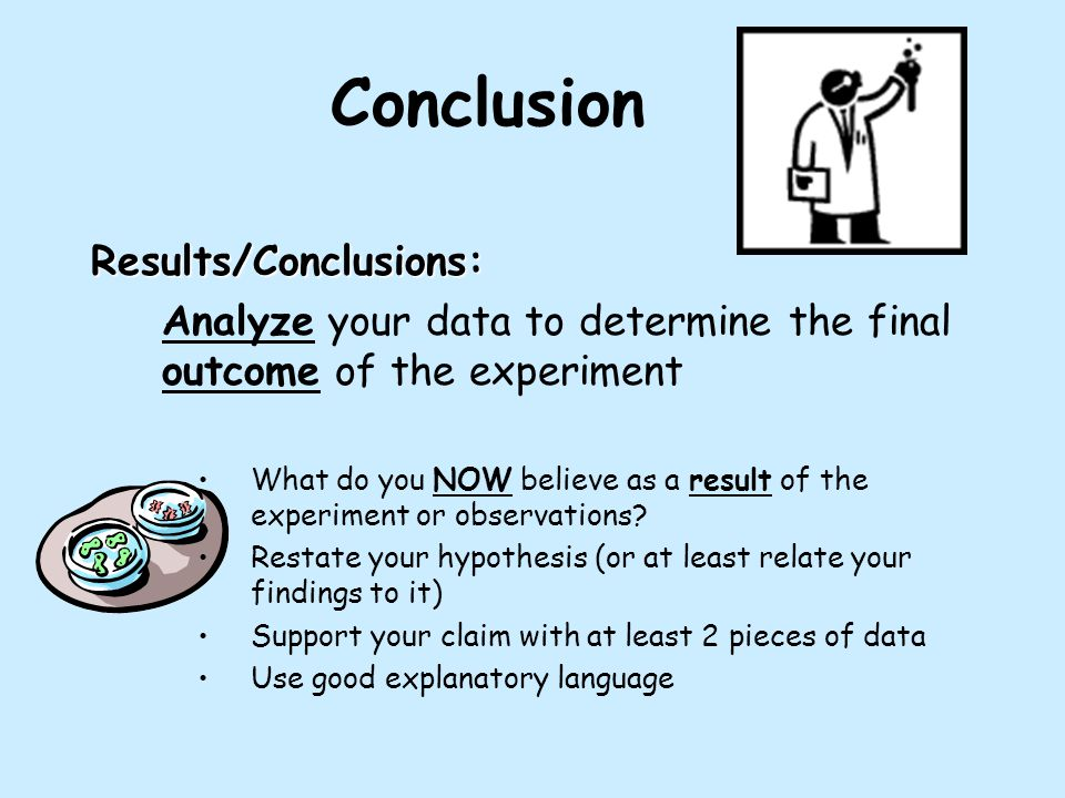 Conclusion Results/Conclusions: