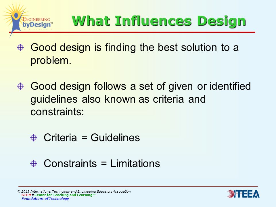 What Influences Design