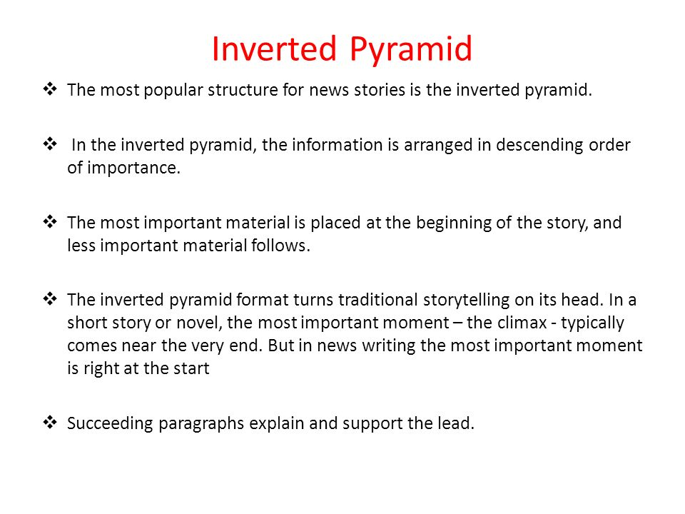 Television News: Story Structure & Scripts - ppt video
