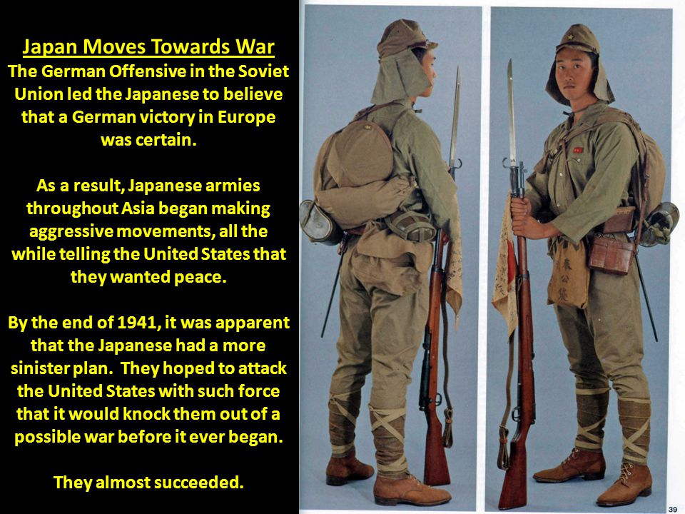 Japan Moves Towards War