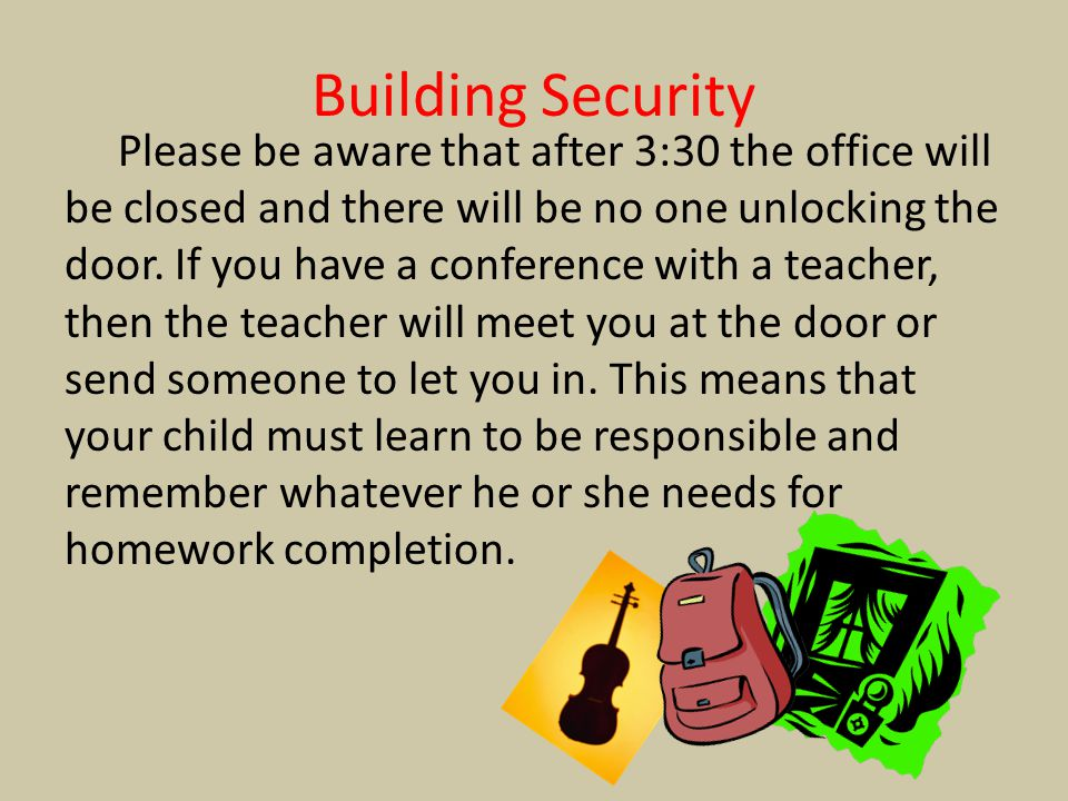 Building Security