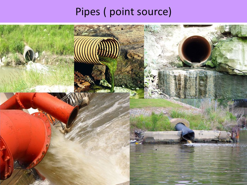 Pipes ( point source)