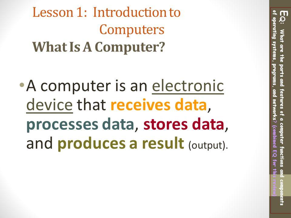 Digital Literacy Computer Basics/ Class Notes - ppt video
