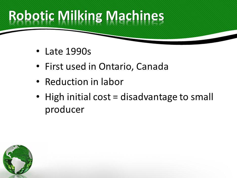 Robotic Milking Machines