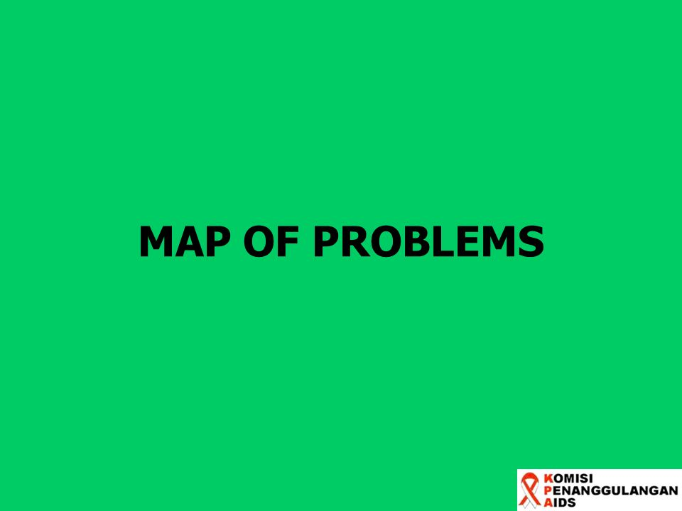 MAP OF PROBLEMS