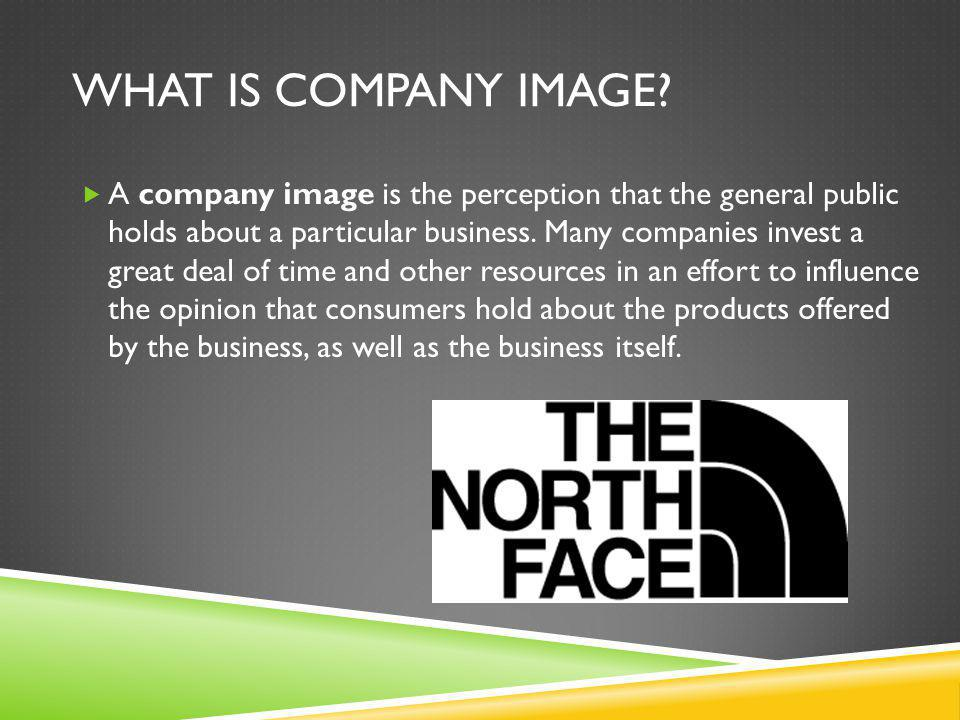 What is Company Image