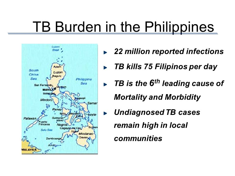 TB Burden in the Philippines