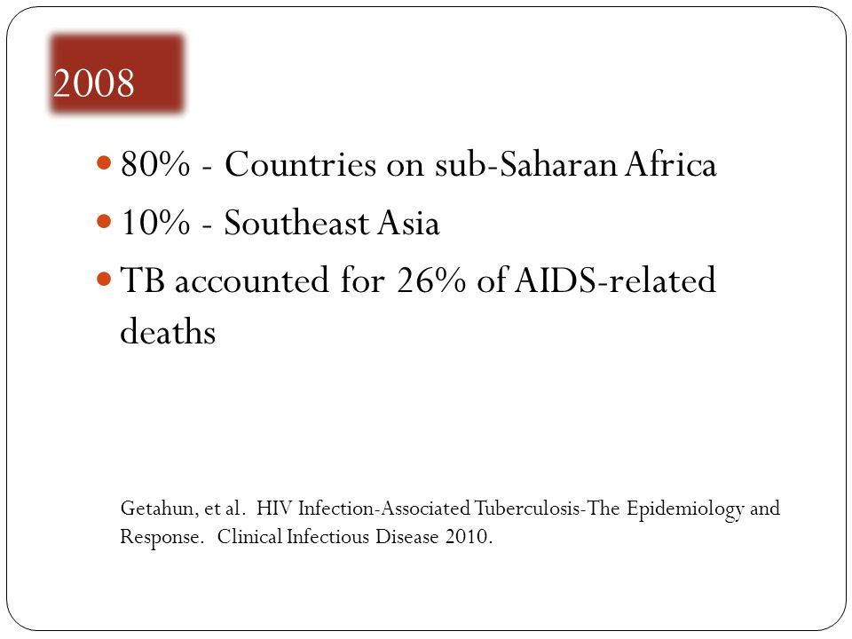 % - Countries on sub-Saharan Africa 10% - Southeast Asia