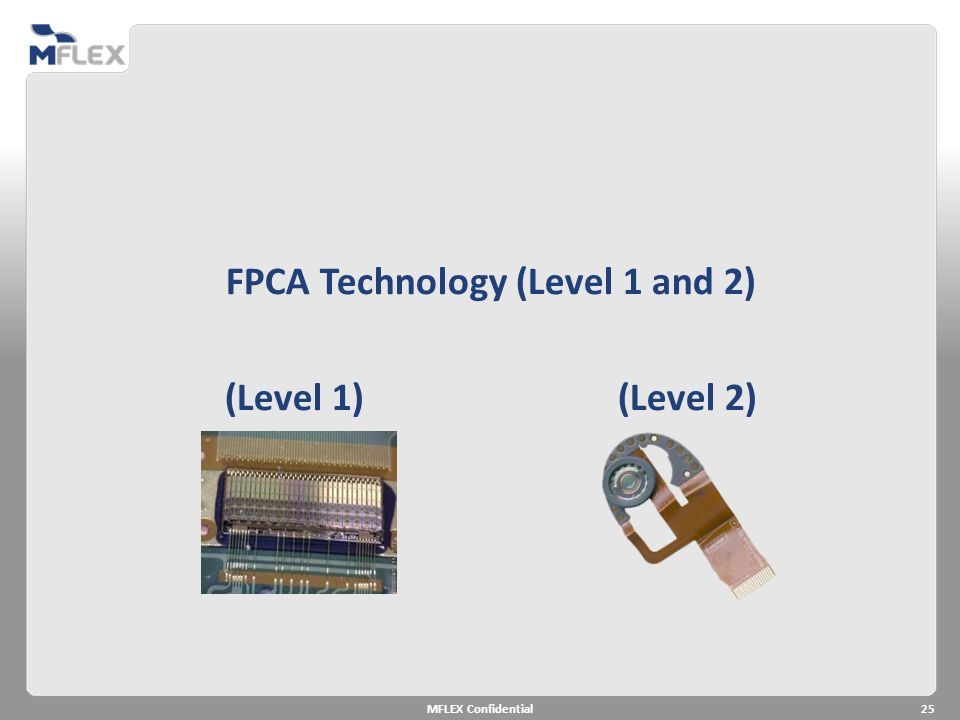 FPCA Technology (Level 1 and 2)