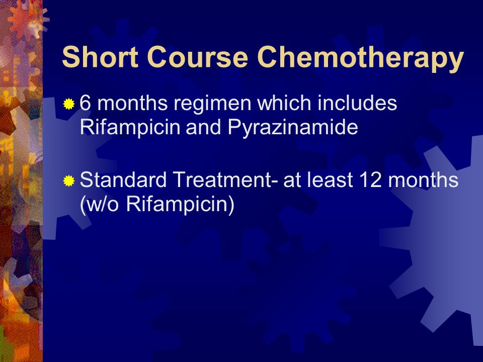 Short Course Chemotherapy