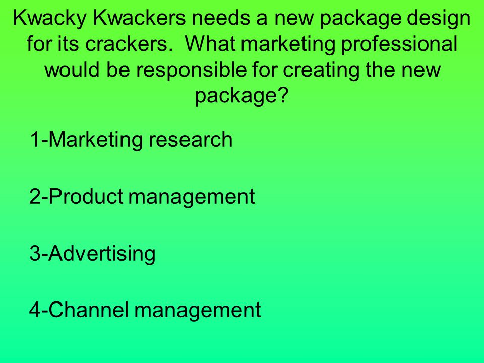 Kwacky Kwackers needs a new package design for its crackers