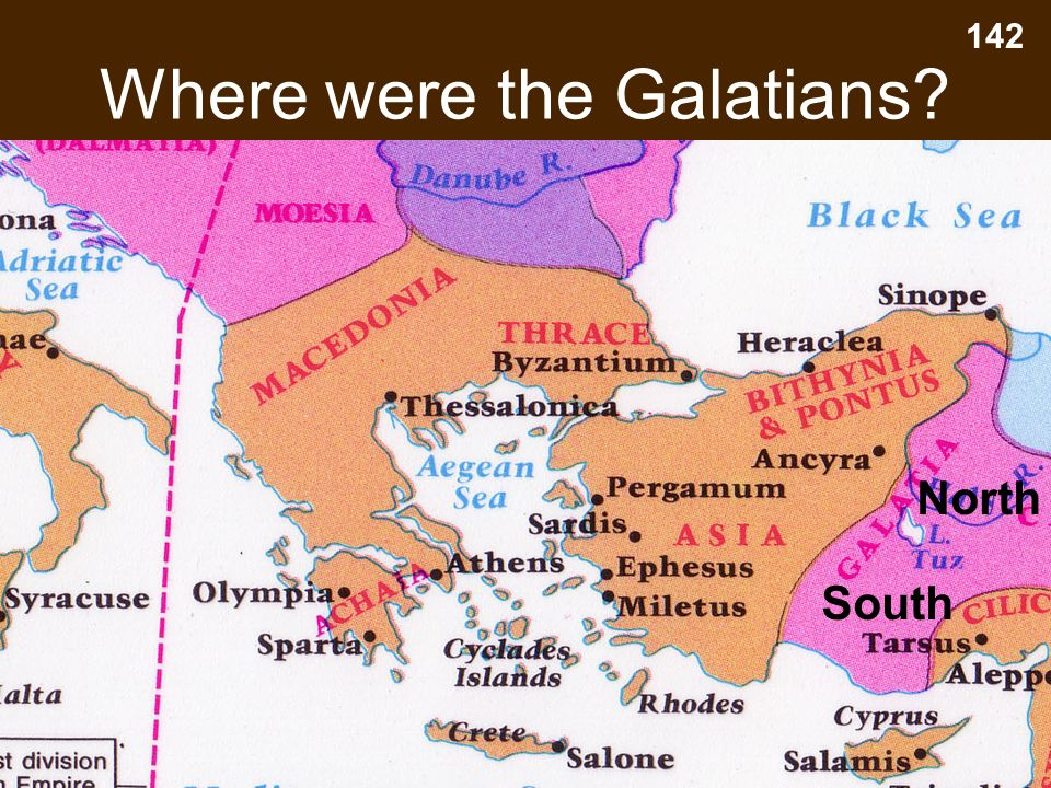 Where were the Galatians