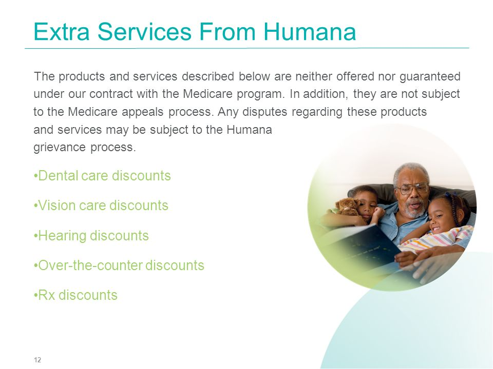 Extra Services From Humana