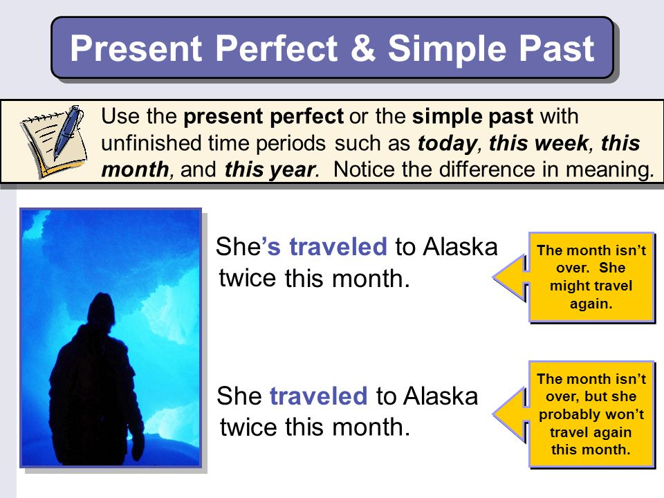 Present Perfect & Simple Past