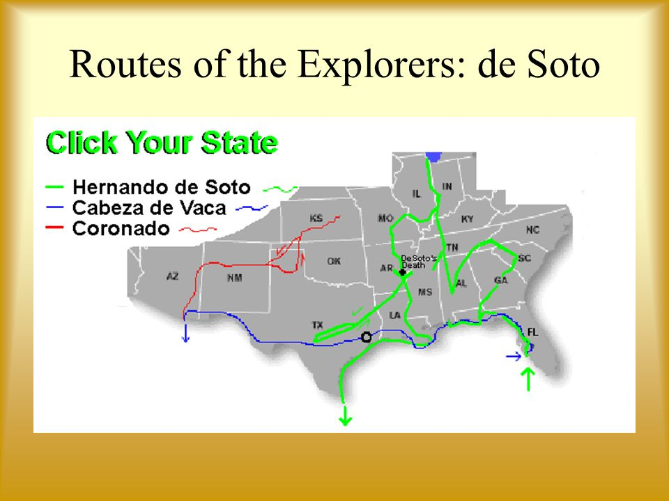 Routes of the Explorers: de Soto