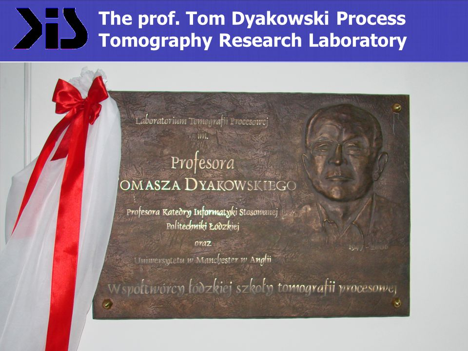 The prof. Tom Dyakowski Process Tomography Research Laboratory