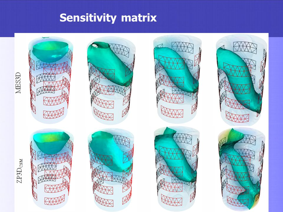 Sensitivity matrix