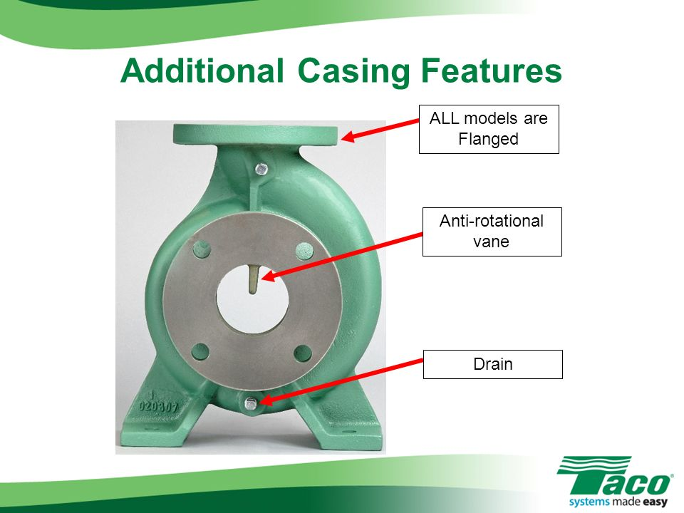 Additional Casing Features