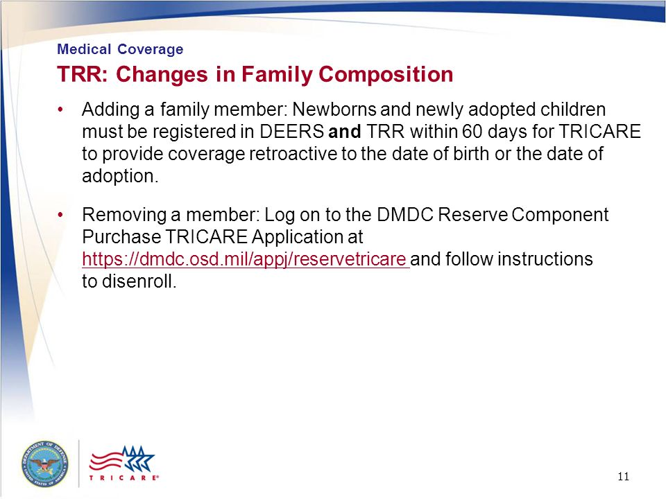 TRR: Changes in Family Composition