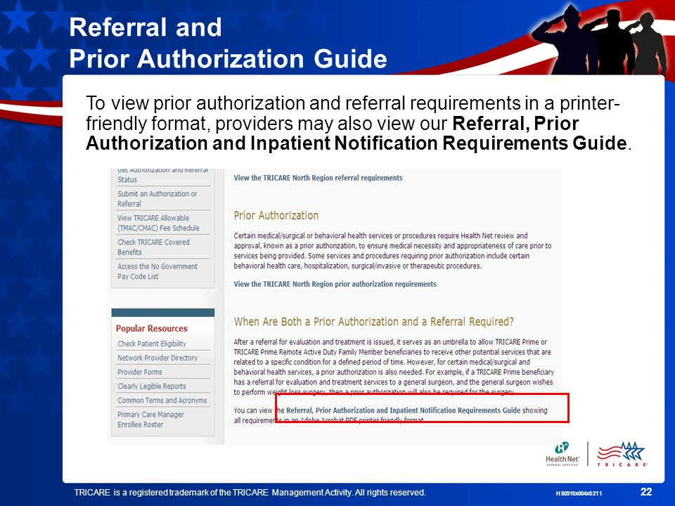 Referral and Prior Authorization Guide