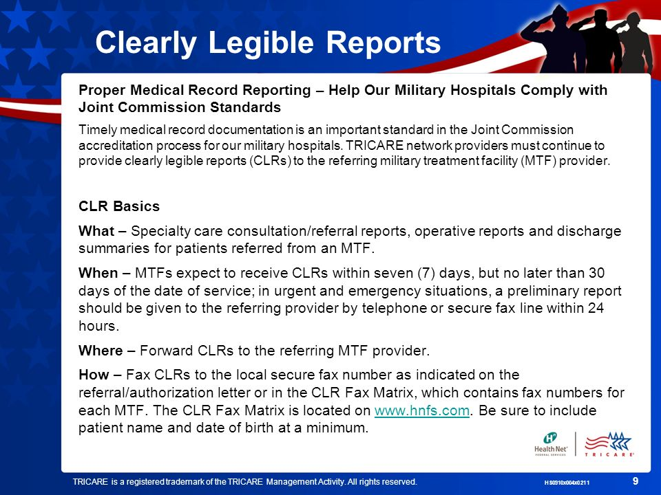 Clearly Legible Reports