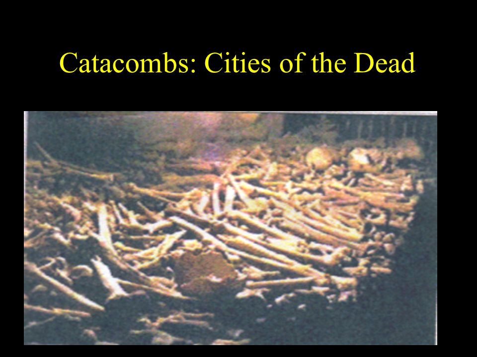 Catacombs: Cities of the Dead