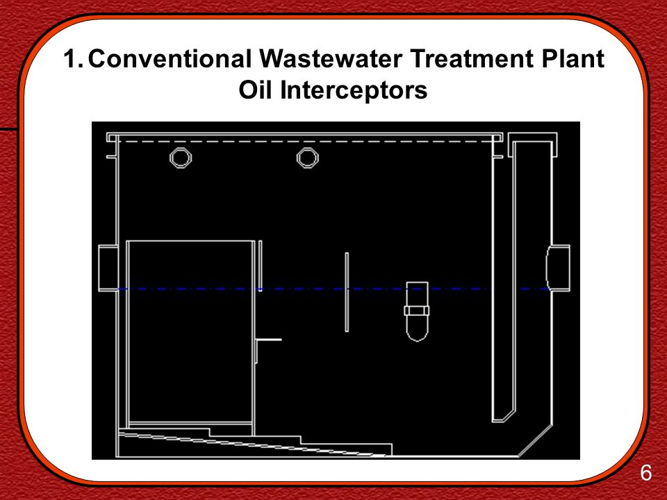 Conventional Wastewater Treatment Plant