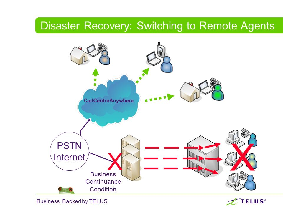 Disaster Recovery: Switching to Remote Agents