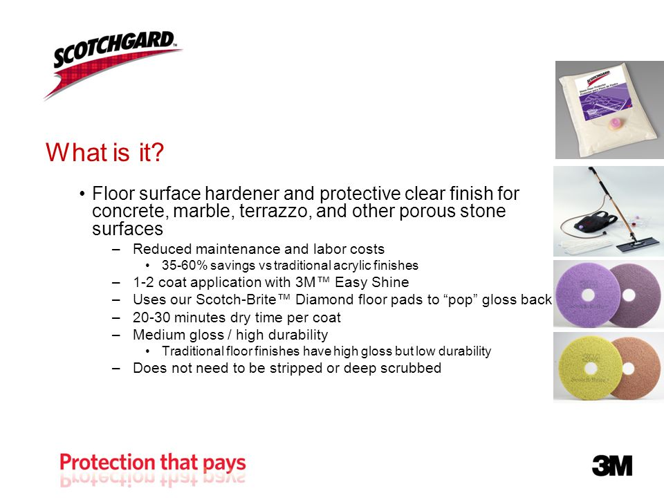 What Is It Floor Surface Hardener And Protective Clear