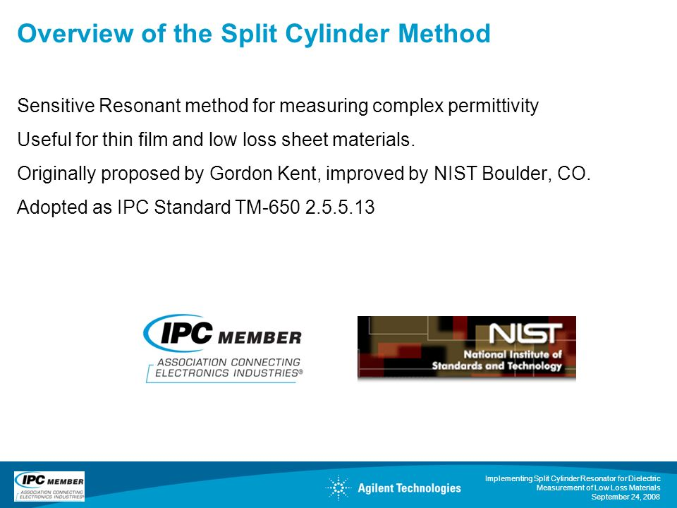 Overview of the Split Cylinder Method