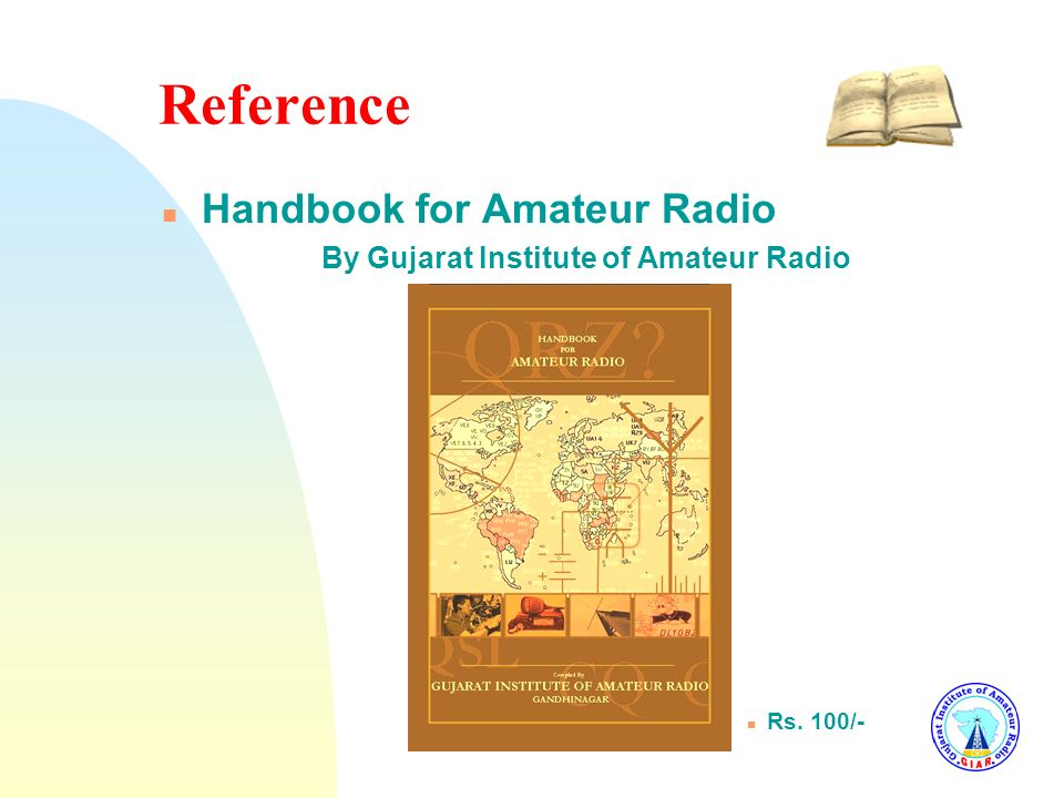 Reference Handbook for Amateur Radio