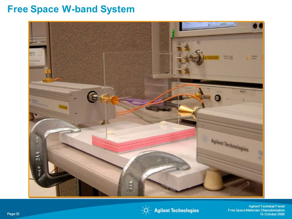 Free Space W-band System