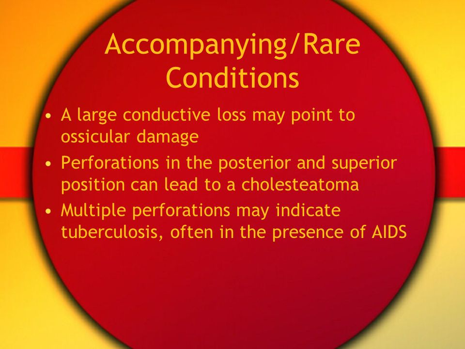 Accompanying/Rare Conditions