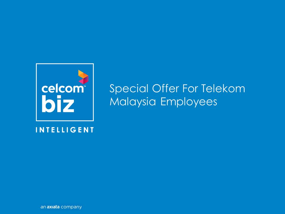 Special Offer For Telekom Malaysia Employees