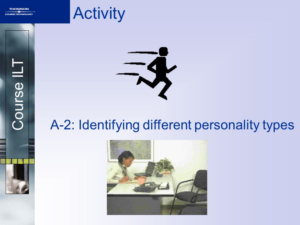 A-2: Identifying different personality types