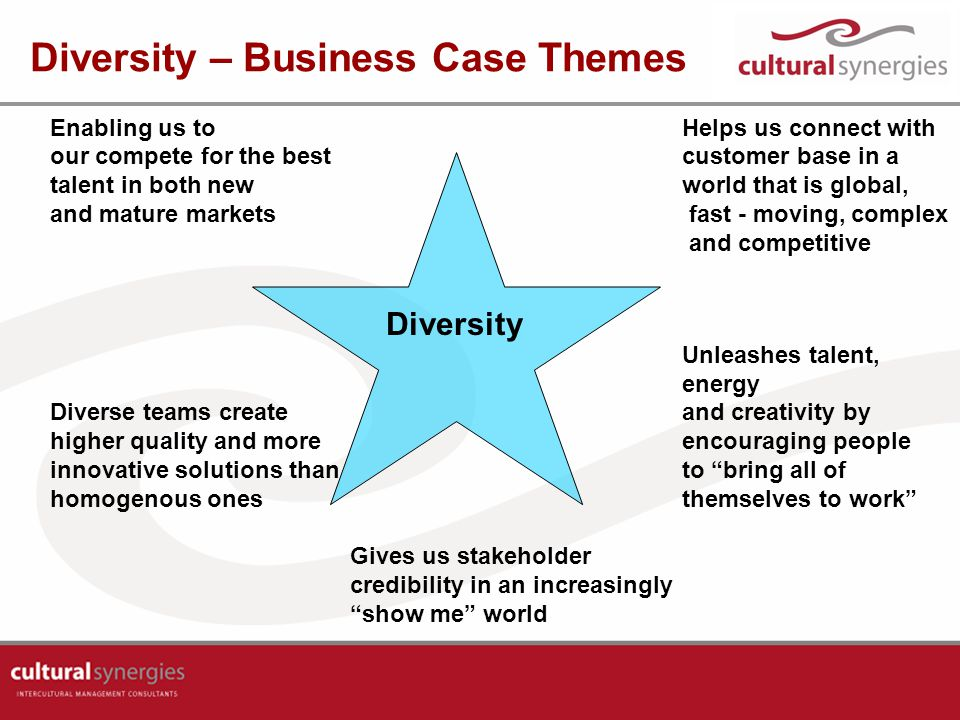 Diversity – Business Case Themes