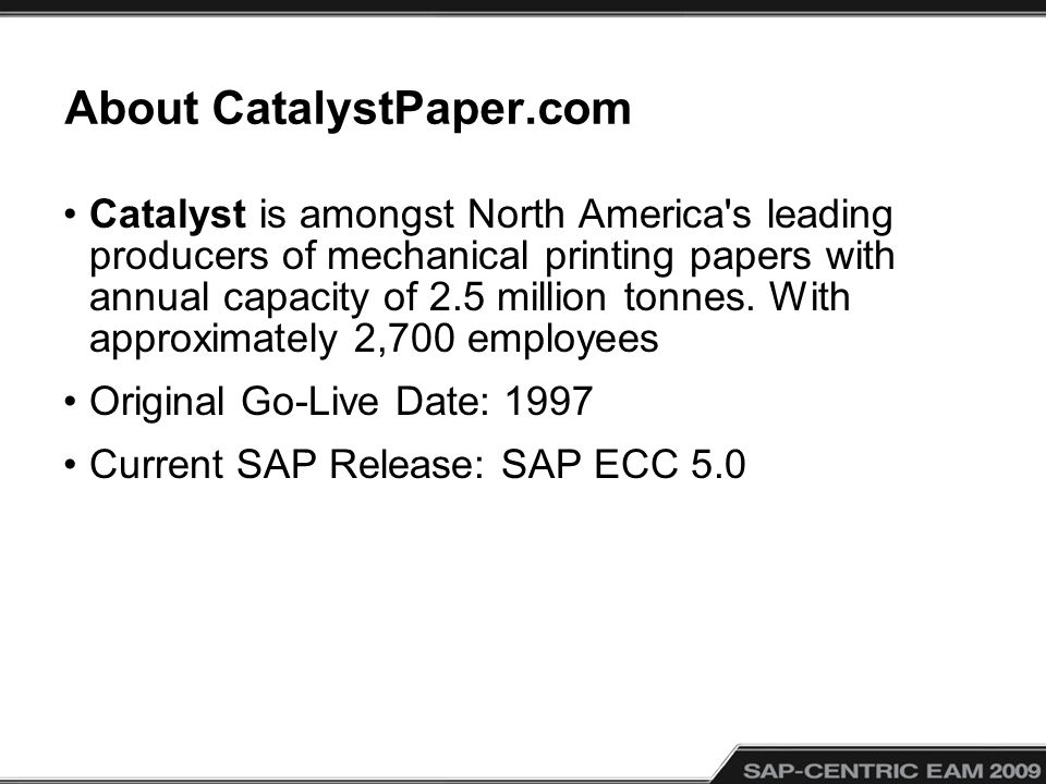 About CatalystPaper.com